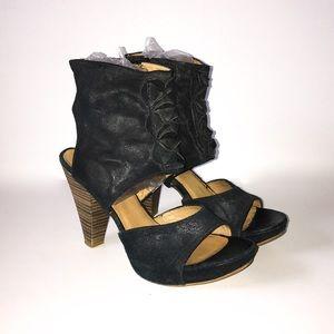 MJUS Hercegovina Ankle Cuff Sandals/Heels Sz 40/10